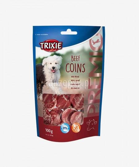 Wołowe talarki smakołyki dla psa Trixie Premio op. 100g