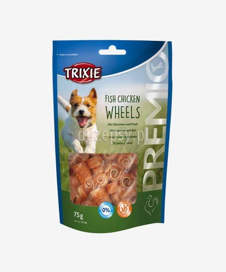 Mięsne przysmaki dla psa z kurczakiem i rybą Trixie Premio 75 g