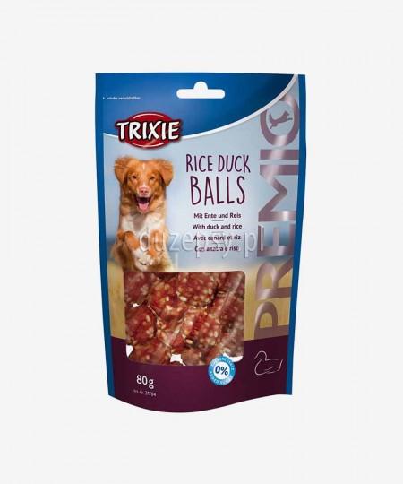 Przysmaki dla psa z mięsem kaczki i ryżem kuleczki Trixie Premio 80 g