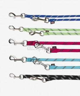 Smycz dla psa z linki regulowana z odblaskiem Trixie Sporty Rope 2 m