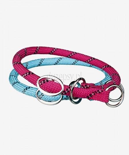 Obroża półzaciskowa dla psa z odblaskiem Trixie Sporty Rope 40-55 cm
