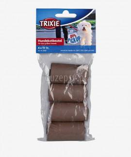 Woreczki na odchody dla psa biodegradowalne Trixie 40 szt.