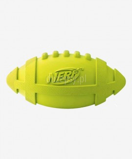 Mocna piłka dla psa rugby piszcząca NERF DOG Rozm. M