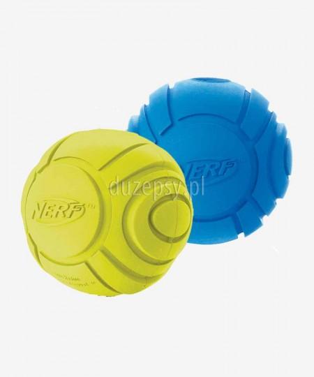Piłka gumowa dla psa piszcząca NERF DOG Rozm. S