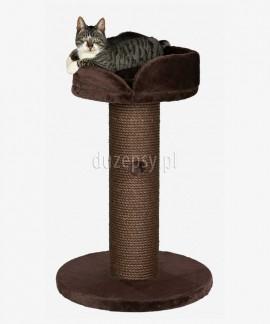 Duży drapak dla kota z legowiskiem i extra grubym słupkiem sizalowym PEPINO Trixie wys. 89 cm