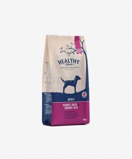 Healthy Paws królik, kaczka i brązowy ryż karma dla psów dorosłych 2 kg