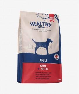 Healthy Paws dziczyzna i proso karma dla psów dorosłych mniejszych ras 12 kg