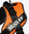 Szelki dla psa Julius-K9 IDC ® Power 96-138 cm pomarańczowe