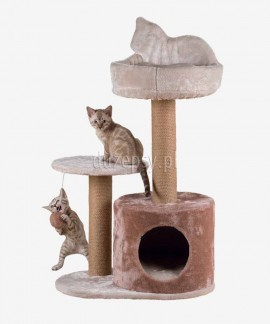 Drapak dla kota z domkiem i legowiskiem GIANNI Trixie wys. 80 cm