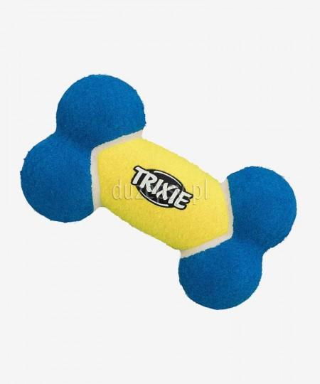 Zabawka dla psa do aportowania kość tenisowa Trixie 17 cm