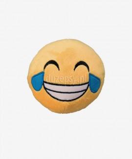 Pluszowa piłka dla psa z uśmiechem piszcząca Smiley Tears of joy Trixie ø 9 cm
