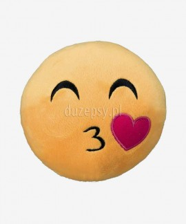 Pluszowa piłka dla dużego psa piszcząca Smiley Kissing Trixie ø 14 cm