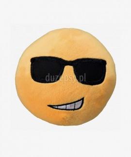 Miękka piłka pluszowa dla psa piszcząca Smiley Cool Trixie ø 14 cm
