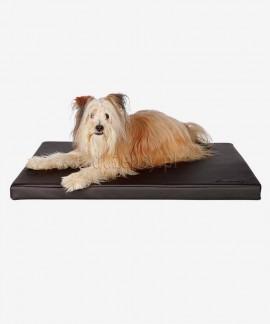 Mata dla psa eko skóra SAMOA SKY Trixie brązowe do 100 cm