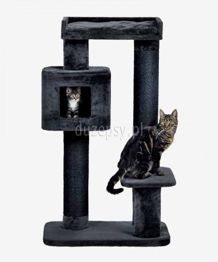 Wysoki drapak dla kota XXL z legowiskiem i domkiem IZAN Trixie wys. 122 cm