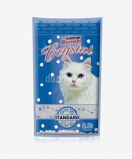 Super Benek Crystal Naturalny żwirek dla kota silikonowy