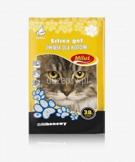 Miluś Silica Gel żwirek silikonowy dla kota 3,8 l