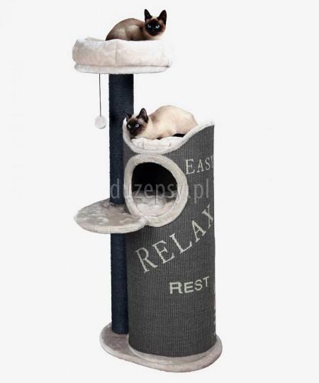 Wysoki drapak dla kota z legowiskiem wieża JUANA Trixie wys. 134 cm