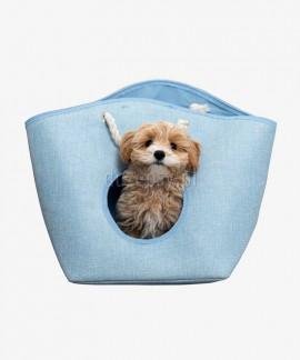 Legowisko dla małego psa EMMA Trixie niebieskie