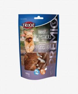 Kosteczki z mięsem królika poczęstunki dla psa Trixie PREMIO Drumsticks 8 szt.