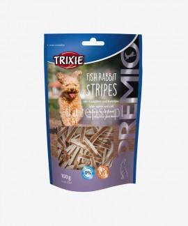 Poczęstunki dla psa z królikiem i rybą Trixie PREMIO Rabbit Stripes 100 g