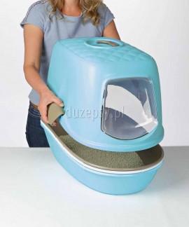 Kuweta dla kota przesiewowa kryta z filtrem węglowym BERTO Trixie