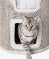 Drapak dla kota z domkiem wieża RIA Trixie wys. 37 cm