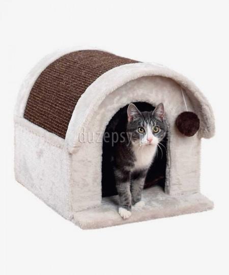 Legowisko dla kota z drapakiem domek ARLO Trixie
