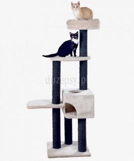 Wysoki drapak dla kota z domkiem i legowiskiem Trixie NITA 147 cm