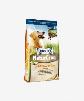 Happy Dog NaturCroq wołowina z ryżem 15 kg karma dla dorosłych psów dużych ras