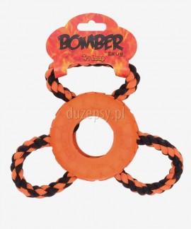 Opona gumowa do przeciągania zabawka dla dużego psa Zeus BOMBER