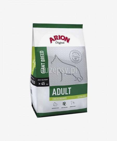 ARION Original Adult Giant Breed Chicken & Rice 12 kg - kurczak sucha karma dla dorosłych psów bardzo dużych ras