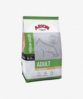 ARION Original Adult Medium Breed Salmon & Rice 12 kg - łosoś sucha karma dla dorosłych psów średnich ras