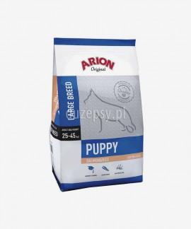ARION Original Puppy Large Salmon & Rice 12 kg - sucha karma dla szczeniąt psów dużych ras z łososiem