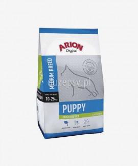 ARION Original Puppy Medium Chicken & Rice 12 kg - sucha karma dla szczeniąt psów dśrednich ras z kurczakiem