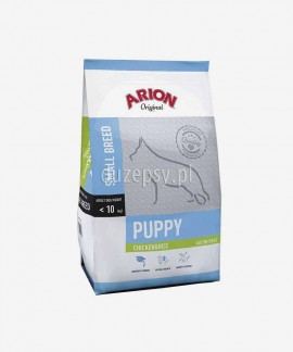 ARION Original Puppy Small Chicken & Rice 7,5 kg - sucha karma dla szczeniąt psów małych ras z kurczakiem