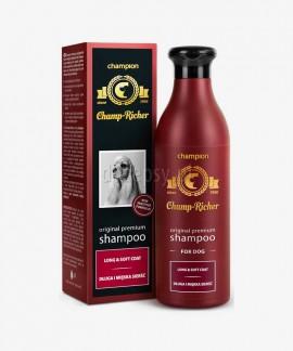 Szampon dla psów z długą i miękką sierścią z olejkiem jojoba Champ Richer CHAMPION 250 ml