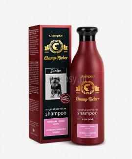 Szampon dla szczeniąt Yorkshire Terrier z jedwabiem i olejkiem migdałowym Champ Richer CHAMPION 250 ml