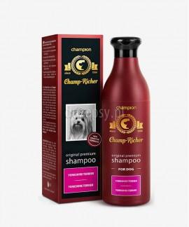 Szampon dla psa Yorkshire Terrier z proteinami jedwabiu Champ Richer CHAMPION 250 ml