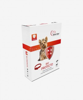 Obroża na kleszcze i pchły dla małego psa z naturalnymi olejkami eterycznymi BIO PROTECTO 35 cm