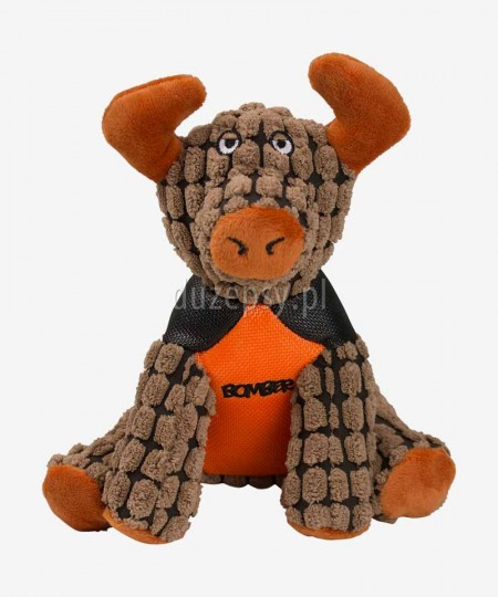 Byk Rocky Pluszowa zabawka dla psa piszcząca ZEUS Bomber Special Forces, 2 rozmiary