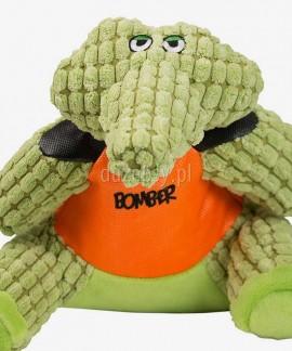 Krokodyl CRUSHER Pluszowa zabawka dla psa piszcząca ZEUS Bomber Special Forces, 2 rozmiary