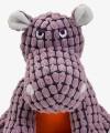 Hipopotam TANK Pluszowa zabawka dla psa piszcząca ZEUS Bomber Special Forces, 2 rozmiary