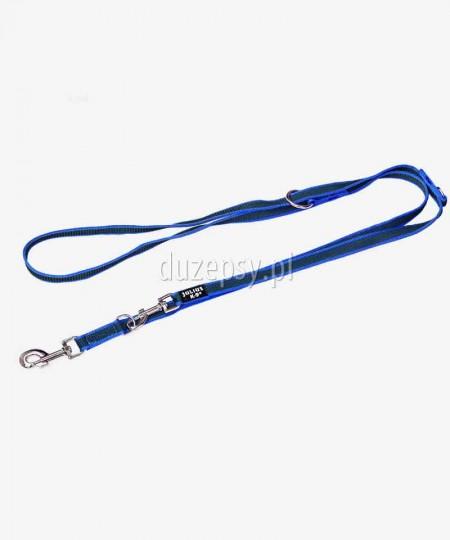 Smycz regulowana dla średniego psa antypoślizgowa Julius-K9 ® 220 cm