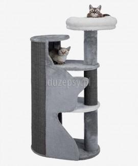 Duży drapak dla kota szary z legowiskiem Trixie ABELE wys. 120 cm