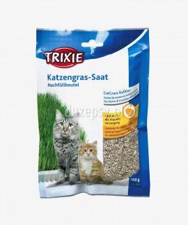 Trawa dla kota i dla kociąt w pojemniku Trixie, 100 g