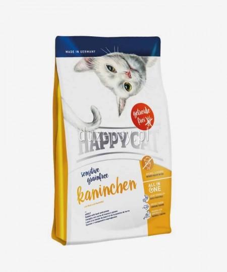 Happy Cat Sensitive Królik bezzbożowa karma dla kotów wrażliwych 4 kg