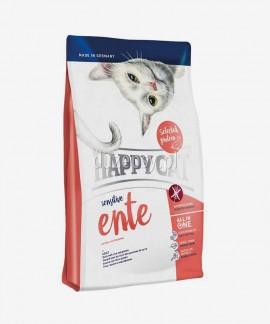Happy Cat Sensitive Kaczka karma dla kotów wrażliwych 4 kg