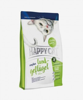 Happy Cat Sensitive Drób bezzbożowa karma dla kotów wrażliwych 4 kg