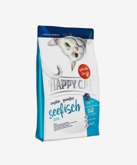 Happy Cat Sensitive Ryby morskie bezzbożowa karma dla kotów wrażliwych 1,4 kg